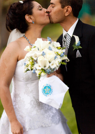 Image: Rehanna Hanif and Christian Steller wedding