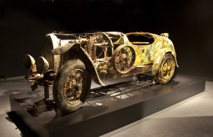 Image: Unrestored Bugatti