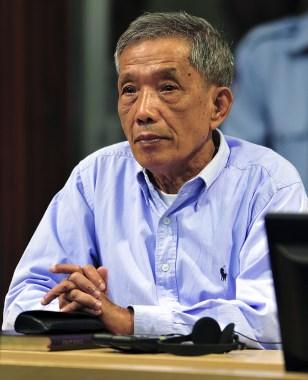 Image: Senior Khmer Rouge regime member Kaing Guek Eav