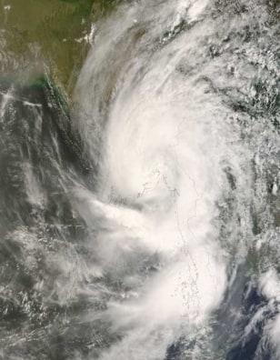 Image: Cyclone Nargis in 2008