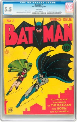 Image: Batman issue No. 1