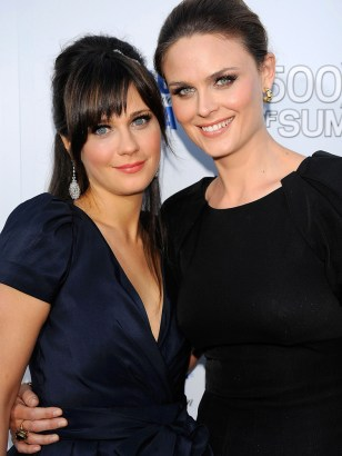 ImagE: Zooey and Emily Deschanel