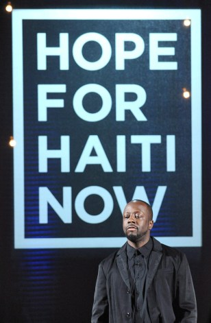 Image: Musician Wyclef Jean considers to run for president of Haiti