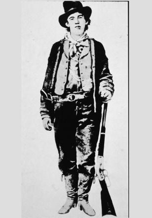 Image: Outlaw William 'Billy The Kid' Bonney