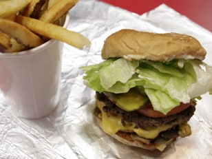 Image: Five guys burger and fries