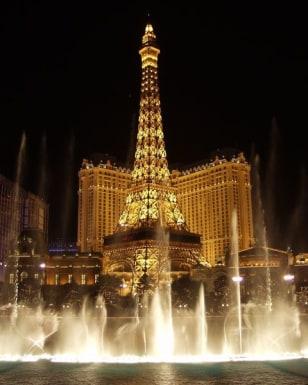 Image: Nighttime shot, Las Vegas