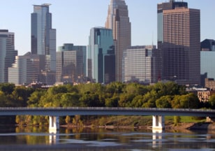 Image: Minneapolis skyline