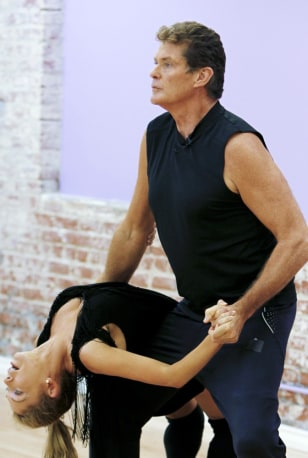 Image: David Hasselhoff, Kym Johnson
