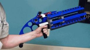 Image: Rubber band gatling gun