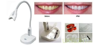 Image: Teeth-whitening lamp