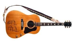 Image: John Lennon's Gibson guitar