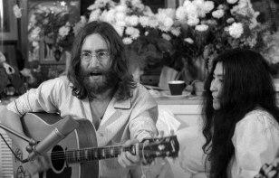 Image: John Lennon and Yoko Ono