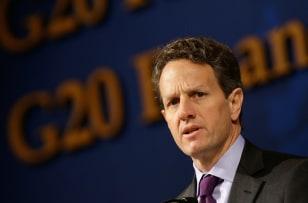 Image: Timothy Geithner, U.S. Treasury Secretary