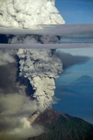 Image: Mount Merapi volcano