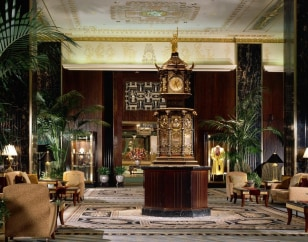 Image: Waldorf-Astoria clock
