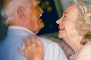 Image: Happy elderly couple