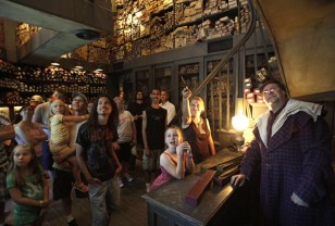 Image: The Wizarding World of Harry Potter opened in June.
