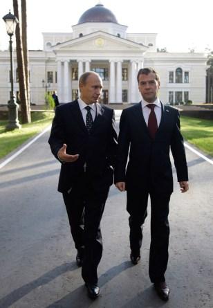 Image: Vladimir Putin, Dmitry Medvedev