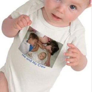 Image: Baby T-shirt from Zazzle.com