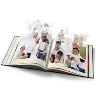 Image: Hardcover photo book at KodakGallery.com