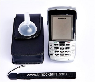 Image: Binocktails cell phone flask