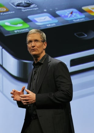 Image: COO of Apple, Tim Cook speaks during Verizon's iPhone 4 launch event in New York
