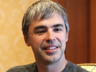 Image: File photo of Google co-founder Larry Page in Sun Valley