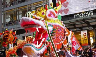 Image: Dragon head, San Francisco