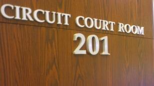 Image: exterior of U.S. court room
