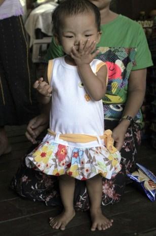 Image: Sixteen-month-old Lei Yadi Min