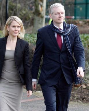 Image: Jennifer Robinson, Julian Assange