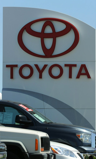 Image: Toyota dealership