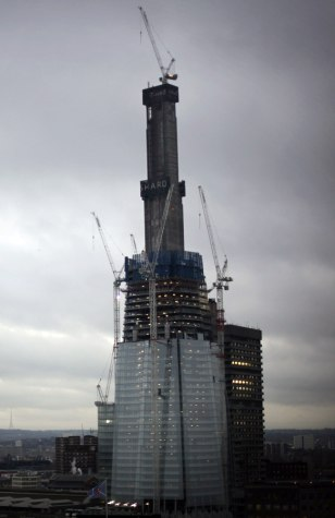 Image: The Shard building in London