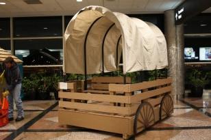 Image: Conestoga-themed playhouse