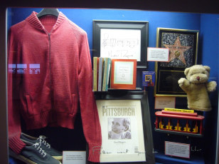 Image: Mister Rogers shrine, Pittsburgh International Airport