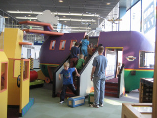 Image: The Kids on the Fly play area at O'Hare International Airport
