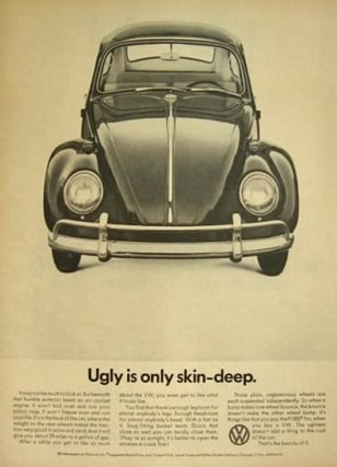 Image: Volkswagen ad from 1966