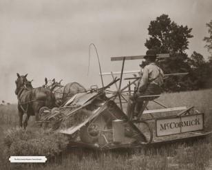 Image: McCormick grain reaper