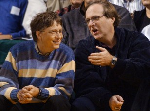 Image: Bill Gates, left, and Paul Allen.