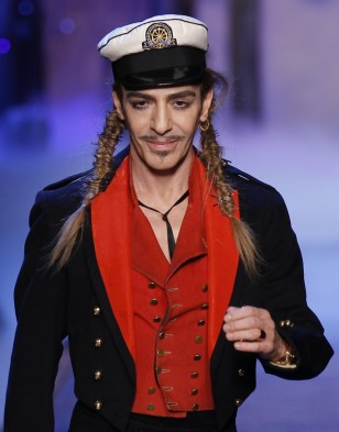 Image: FJohn Galliano