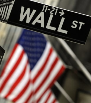 Image: Wall Street sign