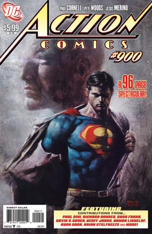Image: Superman comic book