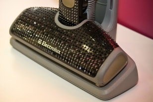 Image: This Electrolux vacuum cleaner is encrusted with 3730 Swarovski crystals and is priced at $23,000.