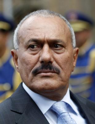 Image: President Ali Abdullah Saleh