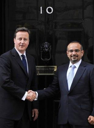 Image: David Cameron and Bahraini Crown Prince Salman bin Hamad Al Khalifa