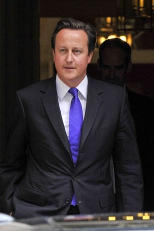 Image: British Prime Minister David Cameron