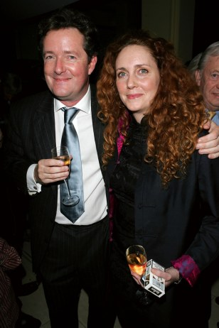 Image: Piers Morgan, Rebekah Wade
