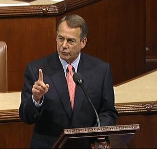 Image: House Speaker John Boehner