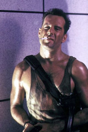 IMAGE: Bruce Willis in Die Hard