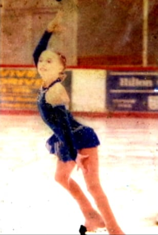 Image: Skater Rachel Stecher, whose picture was found in an urn.